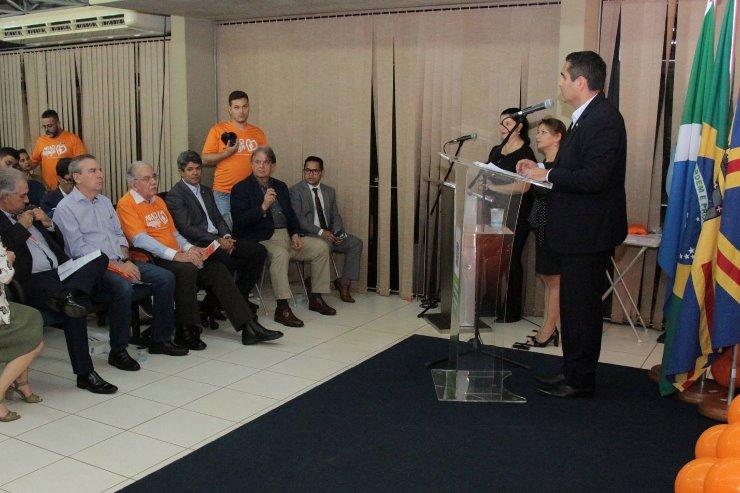 Imagem: A campanha Maio Laranja foi lançada nesta sexta-feira pelo Estado e Assembleia Legislativa
