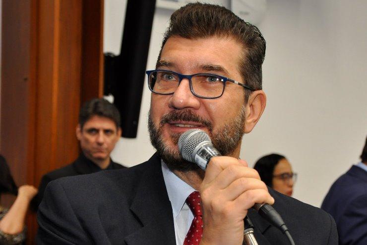 Imagem: O deputado estadual Pedro Kemp é autor da nova lei