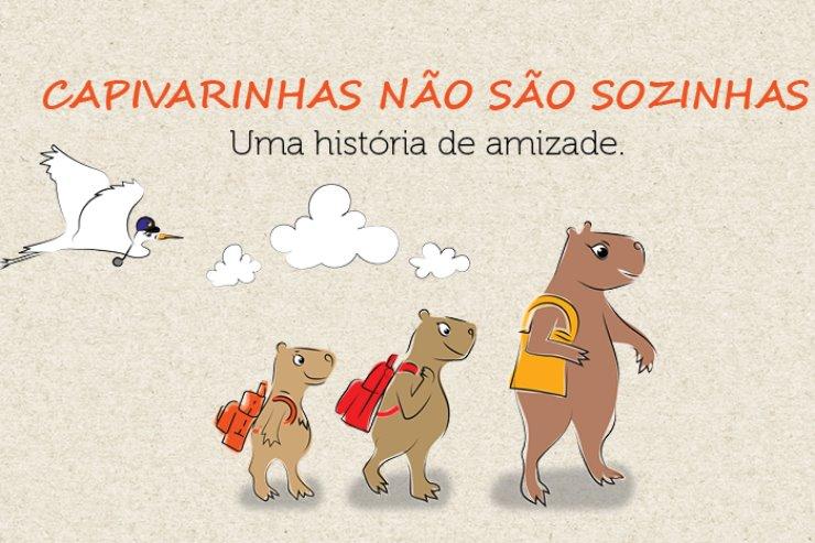 Imagem: Ebook Capivarinhas não são sozinhas