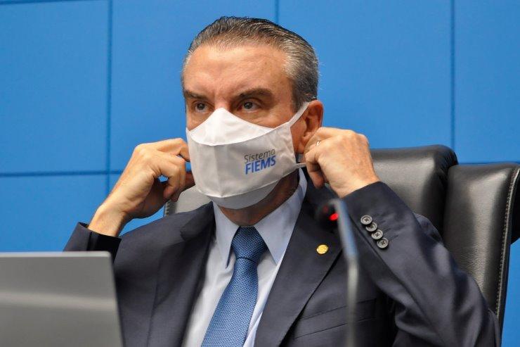 Imagem: Paulo Corrêa (PSDB) comentou sobre a agilidade da vacinação em MS